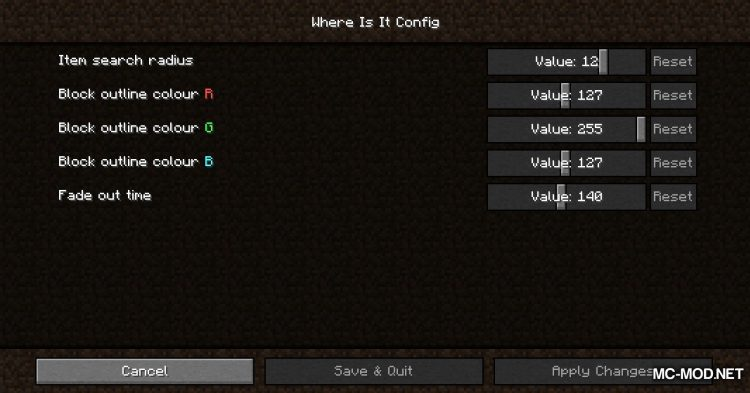 Where Is It mod for Minecraft (2)