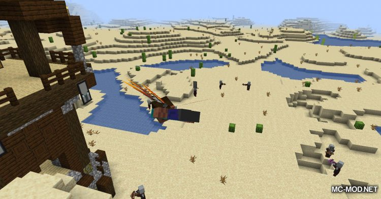 Winged mod for Minecraft (10)