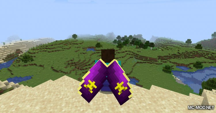 Winged mod for Minecraft (11)