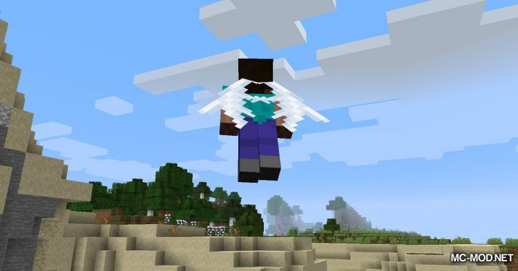 Winged mod for Minecraft (13)