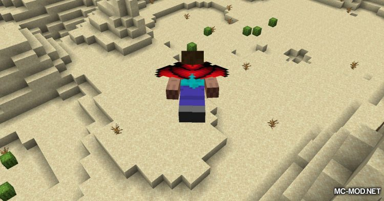 Winged mod for Minecraft (14)