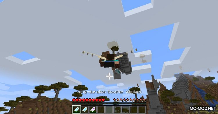 Winged mod for Minecraft (16)