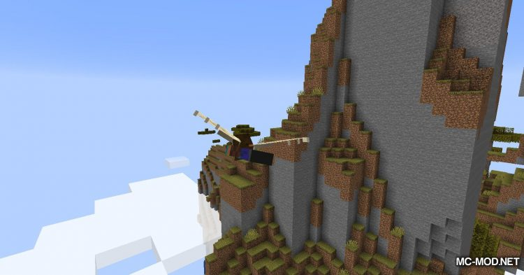 Winged mod for Minecraft (18)