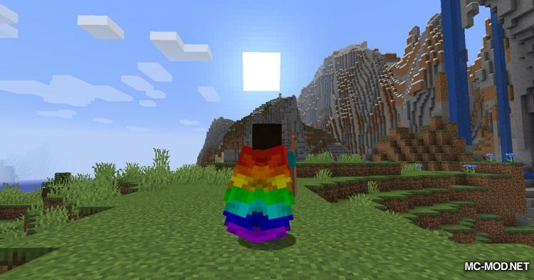 Winged mod for Minecraft (20)