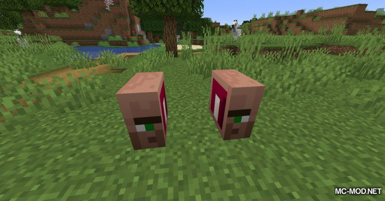 Cubic Villager mod for Minecraft (13)
