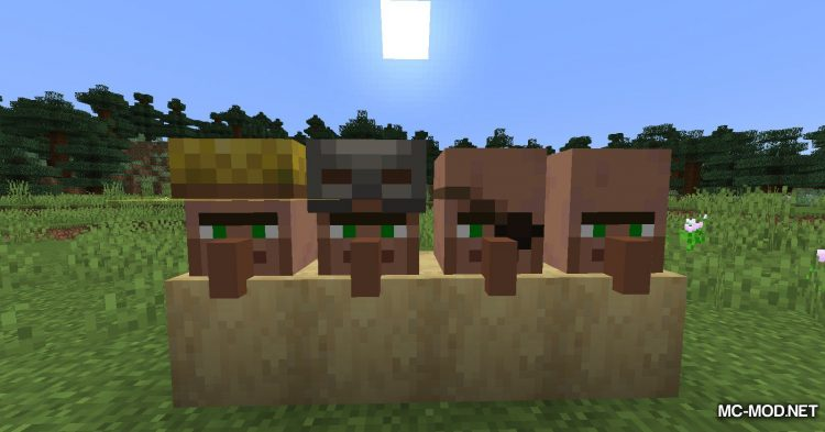 Cubic Villager mod for Minecraft (14)