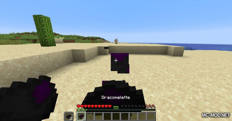 Dracomelette mod for Minecraft (10)