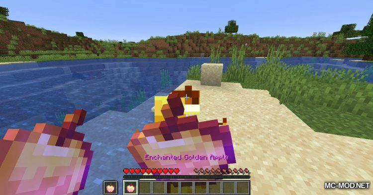 Easy Enchanted Golden Apple Recipe mod for Minecraft (9)