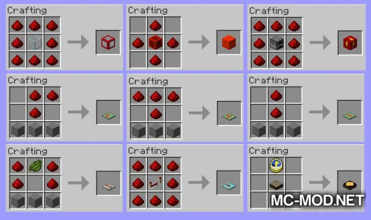 Easy Redstone Extras mod for Minecraft (17)