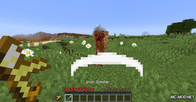 Extra Weapons mod for Minecraft (9)