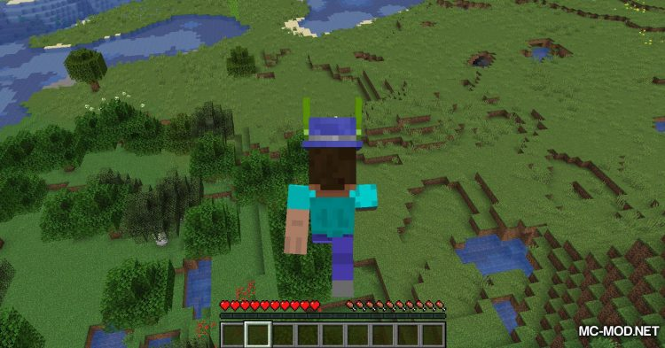 Give Me Hats mod for Minecraft (13)