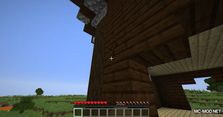 GravityBlock mod for Minecraft (4)