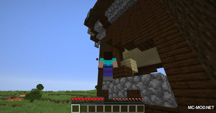 GravityBlock mod for Minecraft (5)