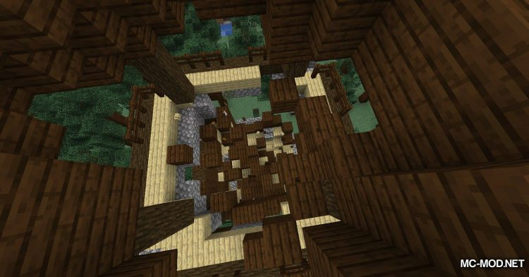 GravityBlock mod for Minecraft (9)
