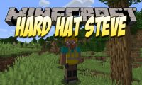 Hard Hat Steve mod for Minecraft logo