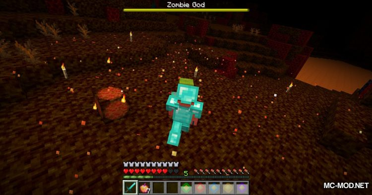 More Zombies mod for Minecraft (19)