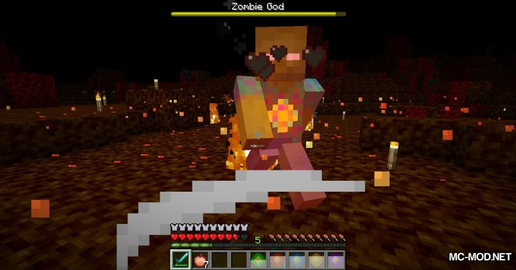 More Zombies mod for Minecraft (21)