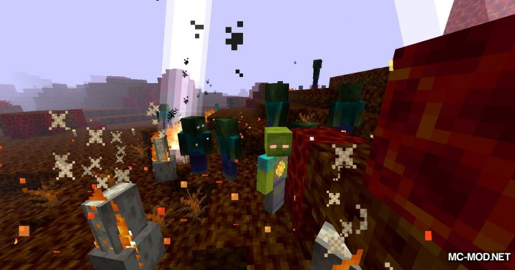 More Zombies mod for Minecraft (23)