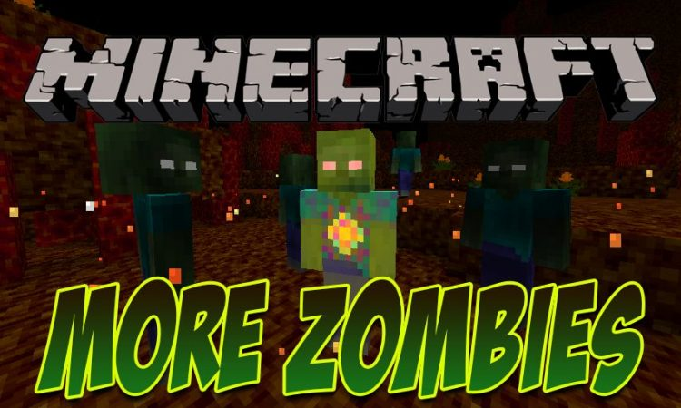More Zombies mod for Minecraft logo