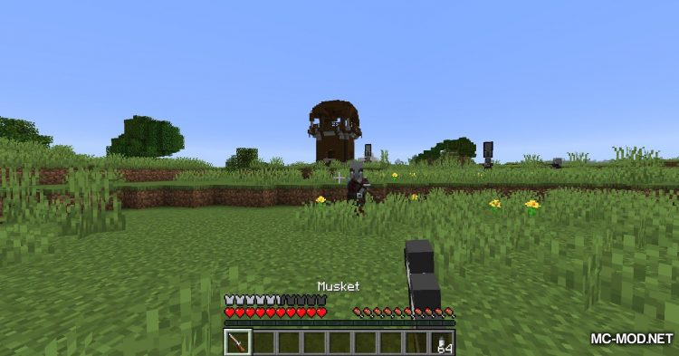 Musket Mod mod for Minecraft (9)