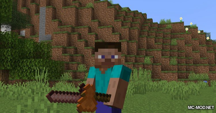 Other Stone Pickaxe mod for Minecraft (5)