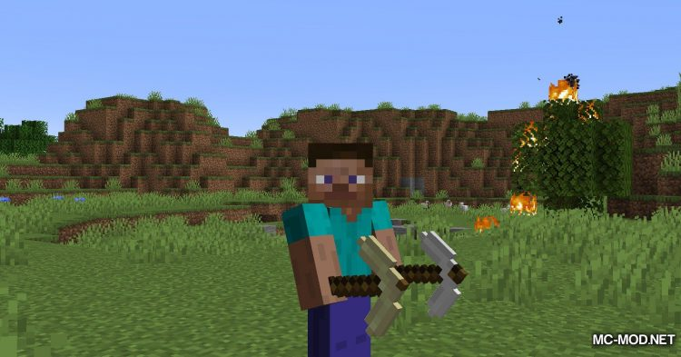 Other Stone Pickaxe mod for Minecraft (7)
