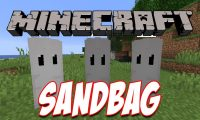 Sandbag mod for Minecraft logo