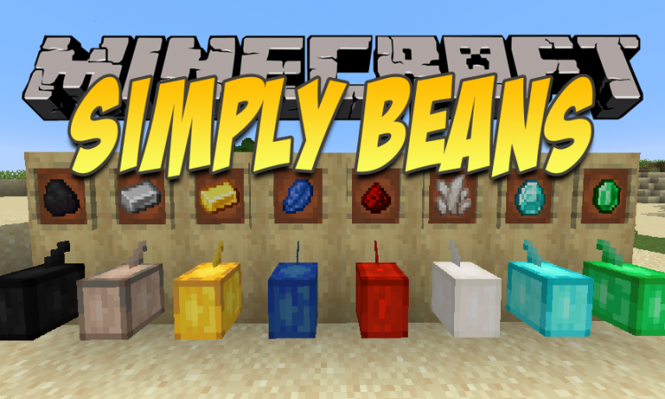 Simply Beans mod for Minecraft logo