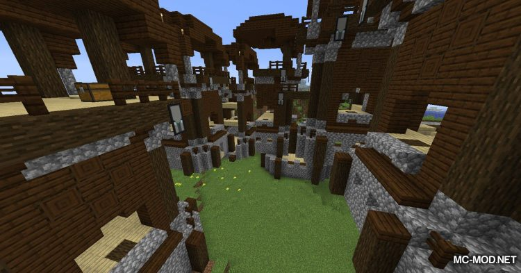Structure Generator mod for Minecraft (8)