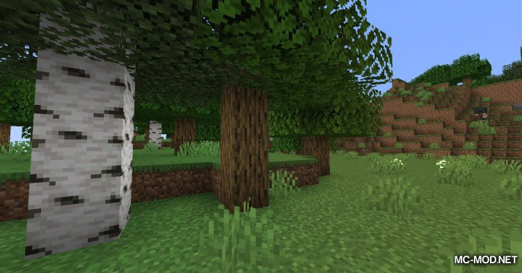 Tree Harvester mod for Minecraft (1)