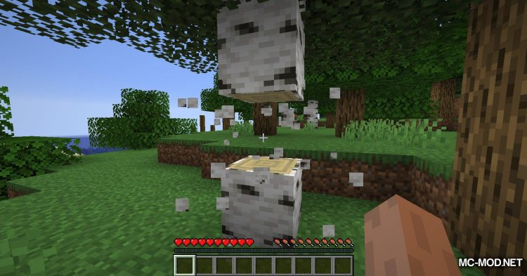 Tree Harvester mod for Minecraft (3)