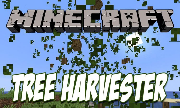 Tree Harvester mod for Minecraft logo
