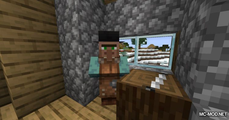Wandering Trapper mod for Minecraft (10)