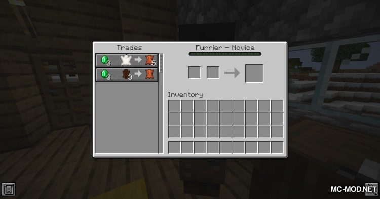 Wandering Trapper mod for Minecraft (11)