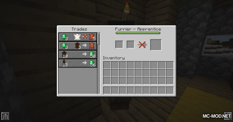 Wandering Trapper mod for Minecraft (12)