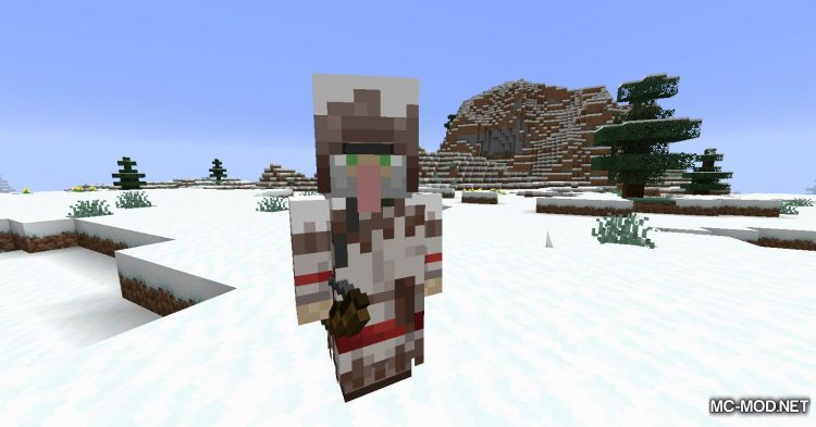 Wandering Trapper mod for Minecraft (3)