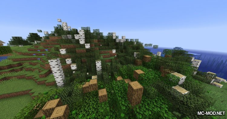 Yet Another ChopDown Mod mod for Minecraft (11)