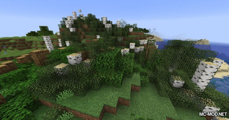 Yet Another ChopDown Mod mod for Minecraft (12)