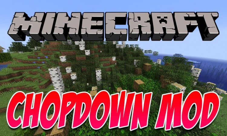 Yet Another ChopDown Mod mod for Minecraft logo
