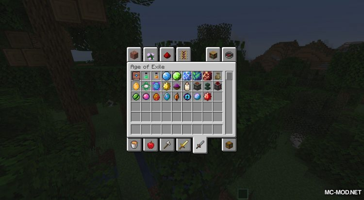 Age of Exile mod for Minecraft (4)