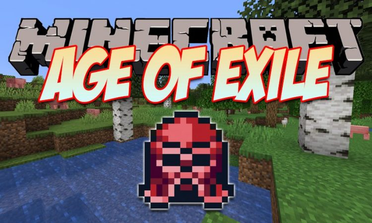 Age of Exile mod for Minecraft logo