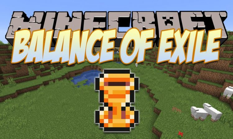 Balance of Exile mod for Minecraft logo