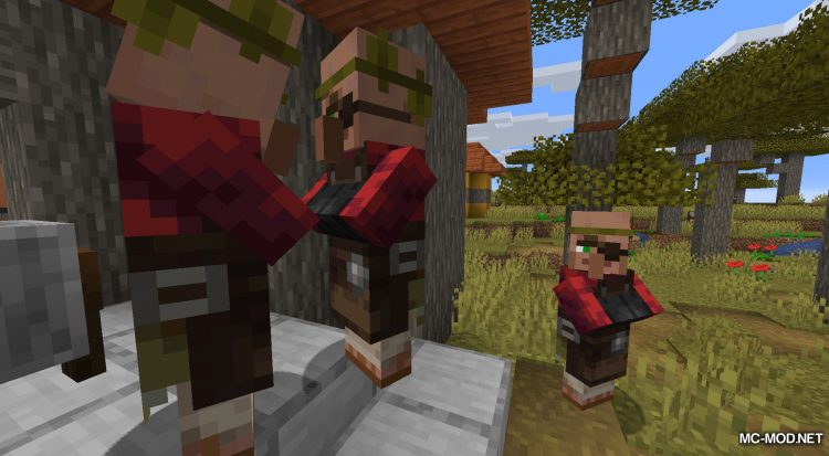 Easy Villager mod for Minecraft (1)