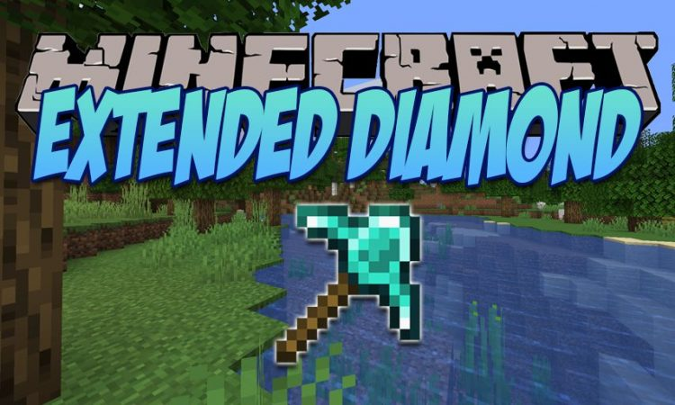 Extended Diamond mod for Minecraft logo