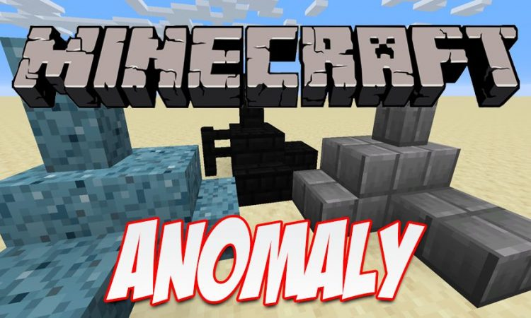 Anomaly mod for Minecraft logo