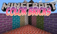ColorBricks mod for Minecraft logo