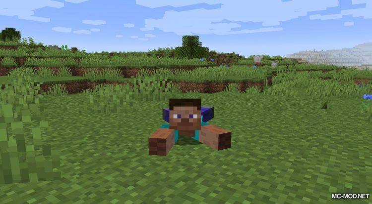 Crawl mod for Minecraft (4)