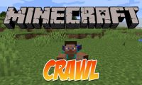 Crawl mod for Minecraft logo