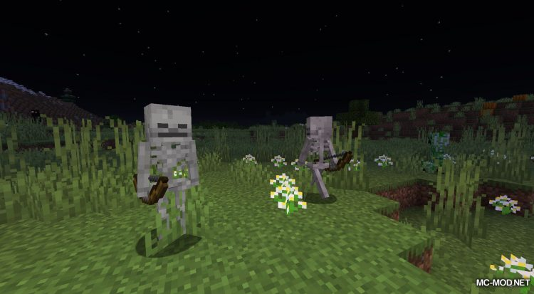Daylight Mobs mod for Minecraft (1)