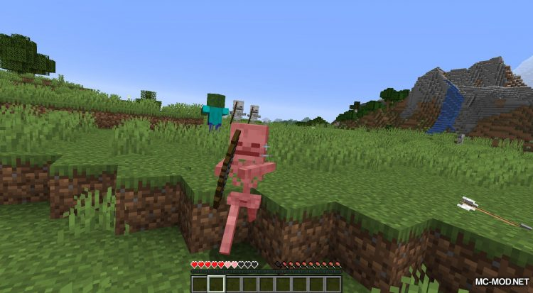 Daylight Mobs mod for Minecraft (5)